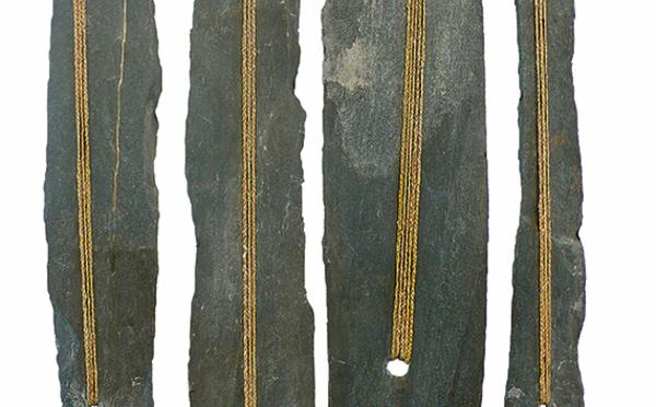 Paris, galerie Univer : Marinette Cueco, « Ardoises, Entrelacs », jusqu'au 31 juillet