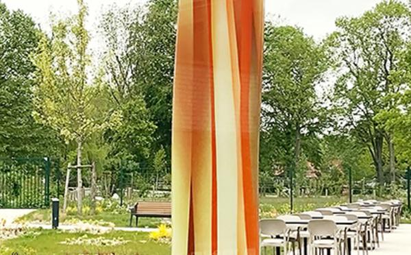 Croix, Hauts-de-France. Sculpture en verre signée Guillaume Bottazzi à découvrir pendant les Journées Européennes du Patrimoine