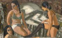 Jean Couty, Les filles de joie Huile sur toile - 195 x 200 cm - 1972 © Musée Jean Couty